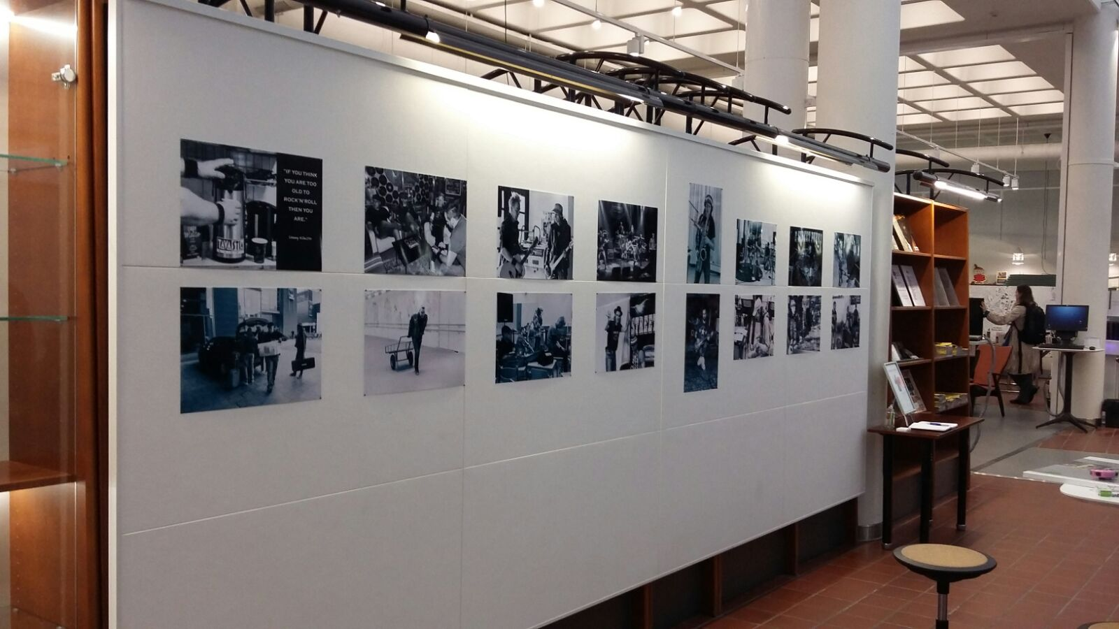 Malmin kirjasto E Street Punks Riikka Koksu Valokuvanäyttely