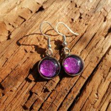 Kynsilakkakorvikset violetti