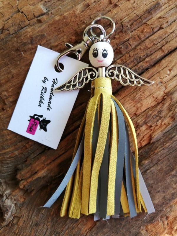 Lilli laukkukoru keltainen