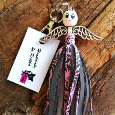 Lilli laukkukoru pinkkiharmaa