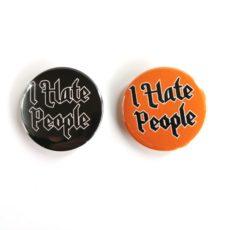 I Hate People pinssi magneetti